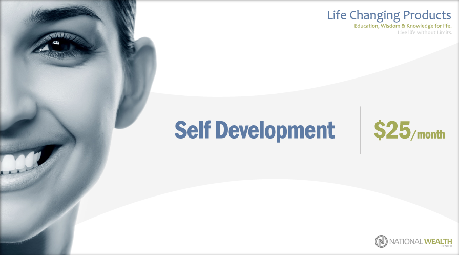 The $25 Basic Self Development product level consist of Mindset and Success Development