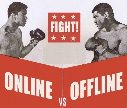 Online vs offline marketing what is the difference